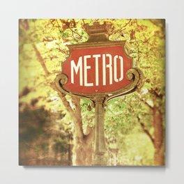 METRO2 Metal Print
