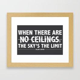 #imwithher Framed Art Print