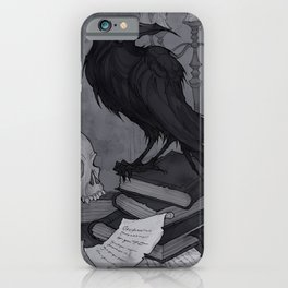 Once upon a Midnight Dreary iPhone Case