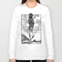 pagan Long Sleeve T-shirts featuring Pagan practioners by DIVIDUS DESIGN STUDIO