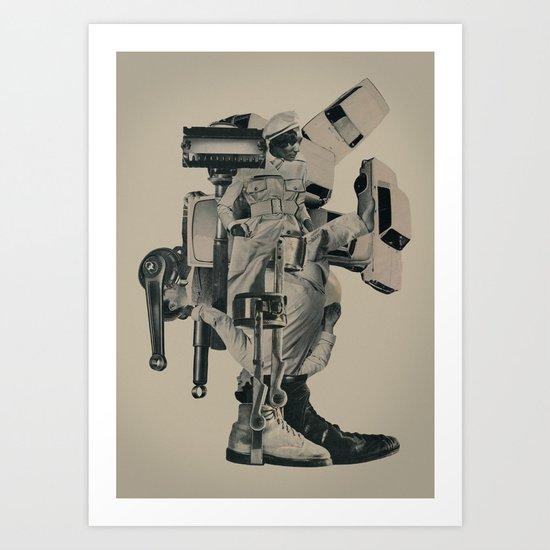 The Menace of Any Shadow Art Print