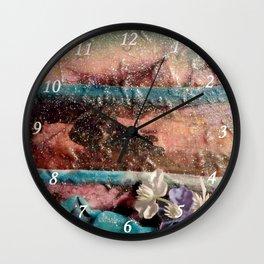Fleurs de printemps Wall Clock
