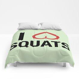 Squat Love Comforters