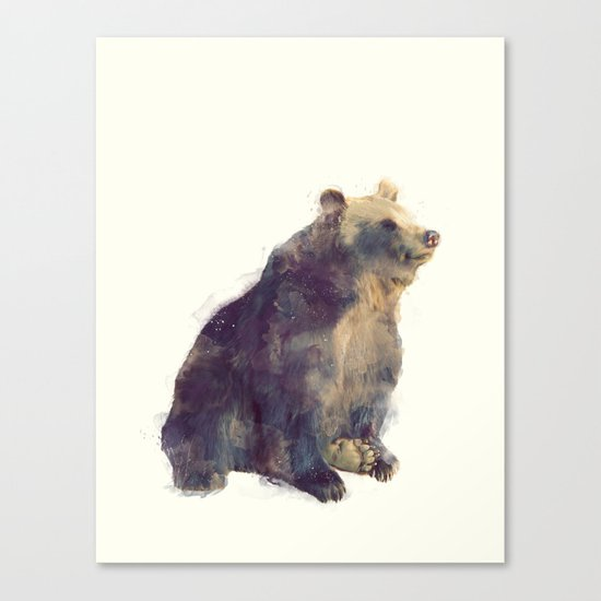 Bear // Nova Canvas Print