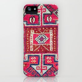 Malatya  Antique Kurdish Turkish Rug iPhone Case