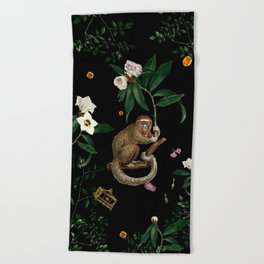 Monkey World: Amber-Ella Beach Towel