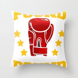 Pound For Pound Throw Pillow