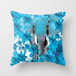 Elephant #1 Throw Pillow