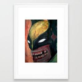 Zombie Logan Framed Art Print