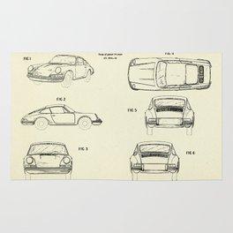 Automobile Porsche-1964 Rug