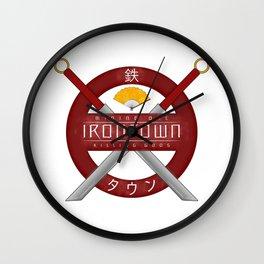 IRONTOWN - Studio Ghibli Wall Clock