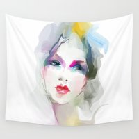 decorative Wall Tapestries featuring 	decorative by tatiana-teni