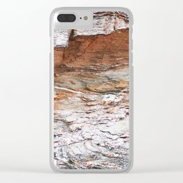 22. Set in Rock, Bretagne, France Clear iPhone Case