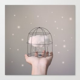 Caged Cloud Canvas Print
