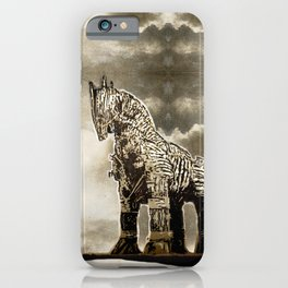 The TROJAN HORSE iPhone Case