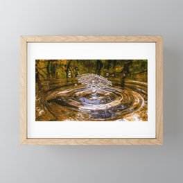 Drop Framed Mini Art Print