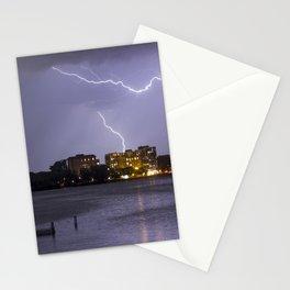 Bde Maka Ska Lightning Storm Stationery Cards