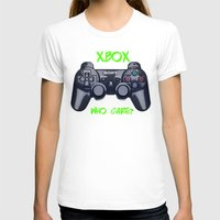 xbox T-shirts featuring Ps vs xbox by BAS~