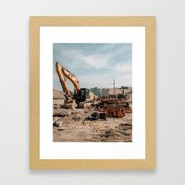 Gentrification, Philadelphia Framed Art Print