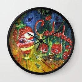 Cedurburg Stawberry Wall Clock