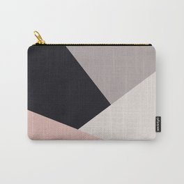 Elegant & colorful geometric Carry-All Pouch