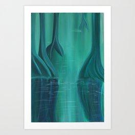 Magical Mangroves Art Print