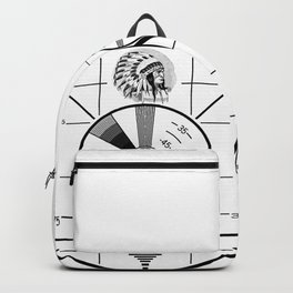 Indian-Head Test Pattern Backpack