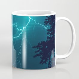 Lightning Crawler Grid Coffee Mug