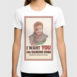 I Want YOU For Diamond Dogs T-shirt