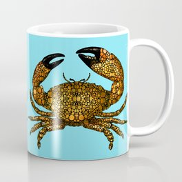 Stone Rock'd Stone Crab By Sharon Cummings Coffee Mug