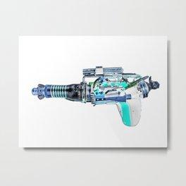 raygun Metal Print