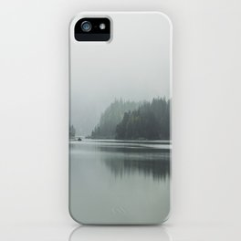 Fog - Landscape Photography iPhone Case