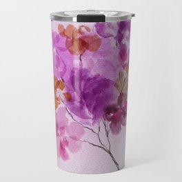 A Floral Sprig Travel Mug