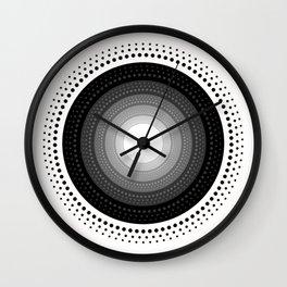 Cleared Mind Wall Clock