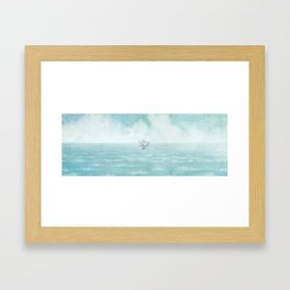 The Antlered Ship - Title Page Framed Art Print