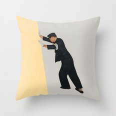 Pushing Boundaries Throw Pillow