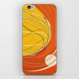 destructive orbit iPhone Skin
