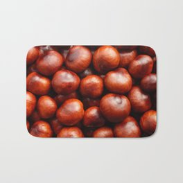 Red conkers Bath Mat