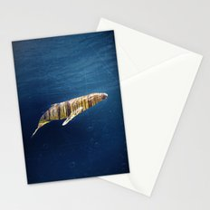 A Whale Dreams of the Forest Stationery Cards