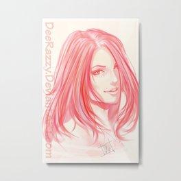 Portrait Dee Metal Print