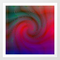 acid Art Prints featuring Acid by GypsYonic