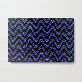 Waves of colors... Metal Print