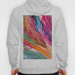 407 - Abstract Colour Design Hoody