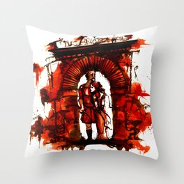 Bloody Titus Andronicus Throw Pillow