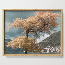 Lake Como tree Serving Tray