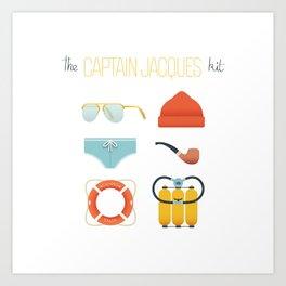 Captain Jacques 02 Art Print