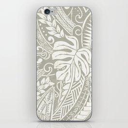 Vintage Organic Samoan Tribal Design iPhone Skin