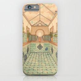 Indoor Pool iPhone Case