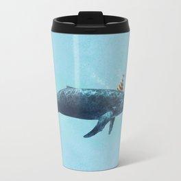 Party Whale  Metal Travel Mug