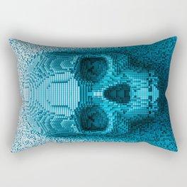 Pixel skull Rectangular Pillow